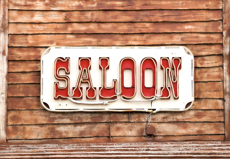 gallow: Western Saloon sign