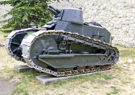 tanque de guerra: Primera Guerra Mundial tanque Modelo: Automitrailleus a Chenilles Renault FT-1917 modo de cañón