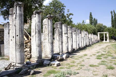 aphrodite: The temple of Aphrodite, Aphrodisias, Geyre, Turkey