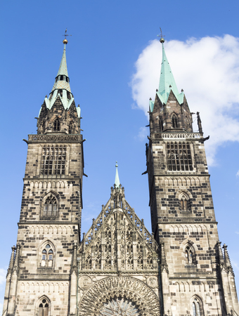 lawrence: Gothic St. Lawrence Church, Nuremberg, Germany