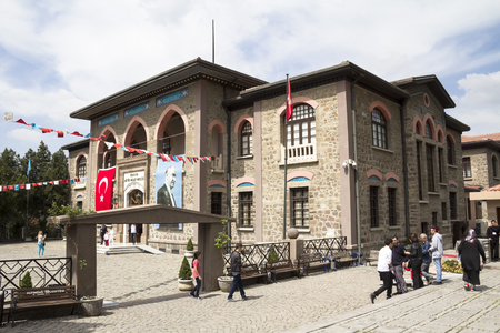 congressman: First Turkish Parliament Building Museum now Repuclic on April 23, 2014 in Ankara by Turkish Republic was founded under the leadership of Mustafa Kemal Atatrk on the building.