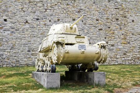 tanque de guerra: Segunda Guerra Mundial tanque, Modelo: M1340 Carro Armato Editorial