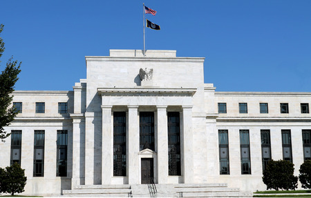 federal reserve: headquarters of the Federal Reserve in Washington, DC, USA, the Fed