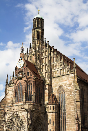 NURNBERG, GERMANY Frauenkirche church of Nuremberg, Bavaria, Germany