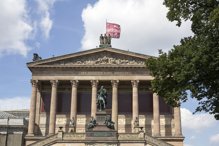 zvýšil: BERLIN, GERMANY: Pergamon Museum, the most visited in Berlin. It hosts more than 1.5 million visitors per year.