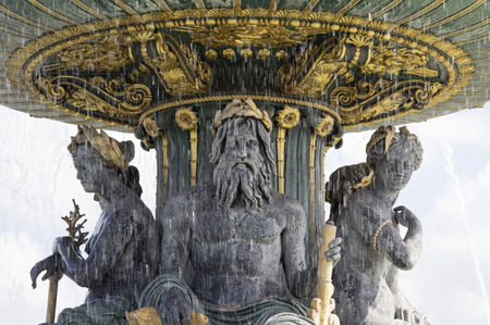 concorde: Place de la Concorde in Paris, France