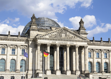 lobe: the German Parliament, in the Mitte district of Berlin, Germany