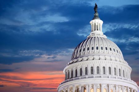 워싱턴 DC - 미국 국회 의사당 건물