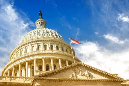 Washington DC - Gebouw van het Amerikaanse Capitool