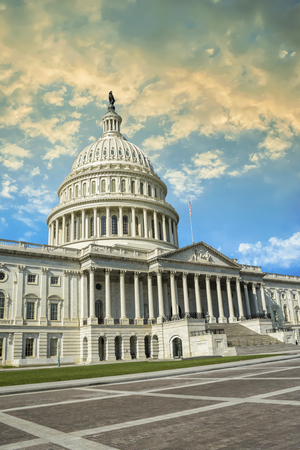 Washington DC - US Capitol building Stock Photo