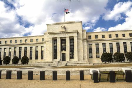 Edificio della Federal Reserve, Washington DC, USA Archivio Fotografico