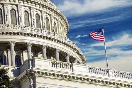 Washington DC - US Capitol building Reklamní fotografie