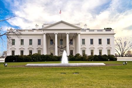 La Casa Bianca, Washington DC Archivio Fotografico