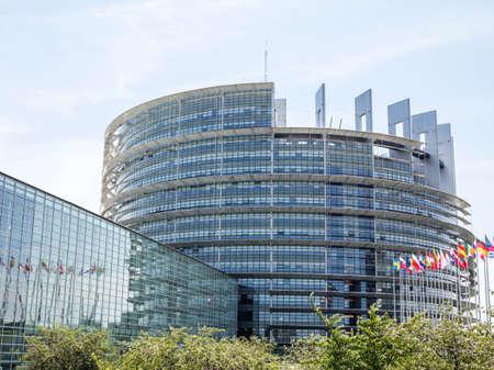 Strasbourg, France: European Parliament in Strasbourg, France