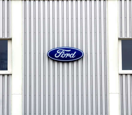Schwabach, Germany - Ford dealership building. The Ford Motor Company is an American multinational automaker. It was founded by Henry Ford.