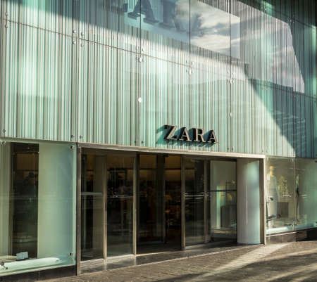ROTTERDAM, NETHERLANDS : ZARA fashion store. Zara is an Spanish clothing and accessories retailer.
