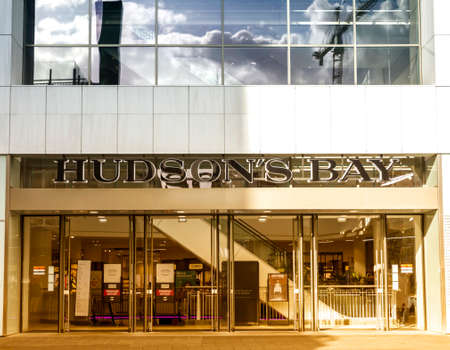 ROTTERDAM, NETHERLANDS : Hudson's Bay. The Hudson's Bay Company is a Canadian retail business group.