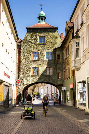 Weiden, GERMANY : Old town of Weiden in der Oberpfalz Éditoriale