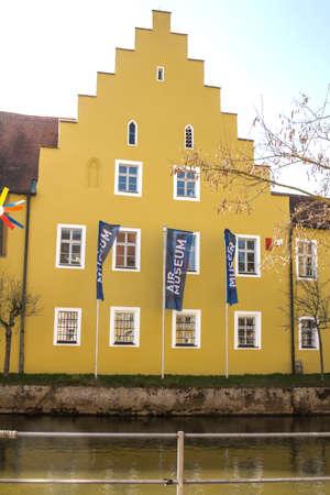 Amberg, Germany : German Luft (air) museum in Amberg, Bavaria