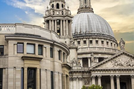 Saint Paul's Cathedral, London, England Banque d'images