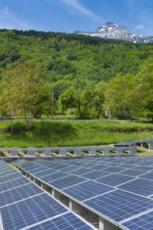 Photovoltaic and Mountain