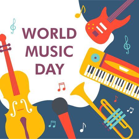 World Music Day Çizim
