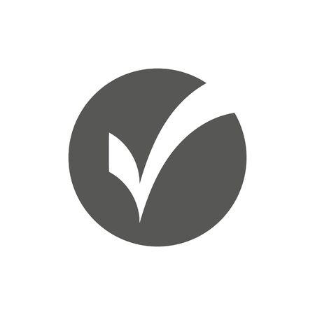 check mark vector icon logo template eps 10
