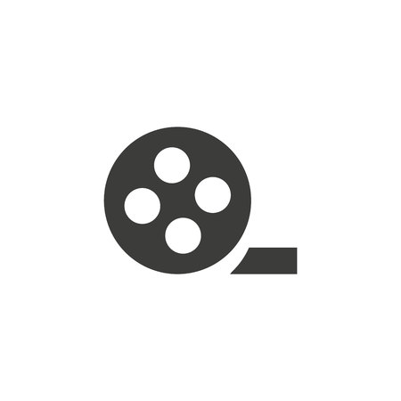 Video icon in trendy flat style isolated on background. Video icon page symbol for your web site design Video icon, app, UI. Video icon Vector illustration,