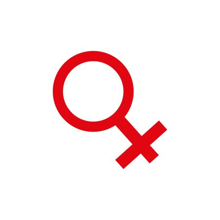 Gender symbol, sex symbol, Isolated Vector icon that can be easily modified or edit. 일러스트