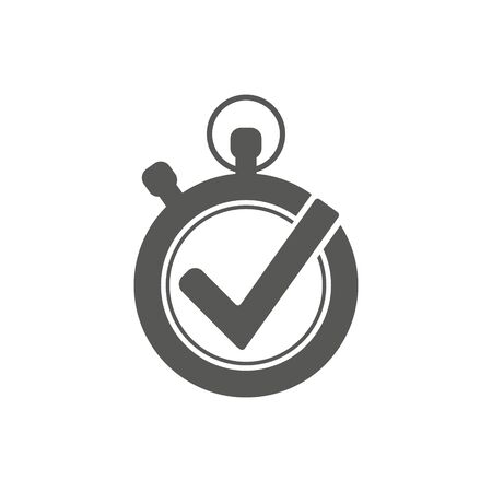 Stopwatch vector icon isolated on white background. Time timer vector icon. Stock fotó - 131996413