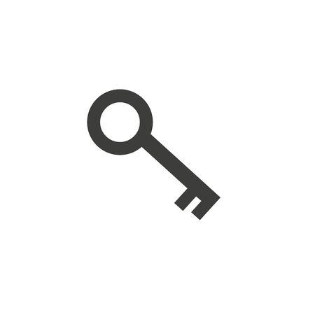 Key Vector icon . Lorem Ipsum Illustration design Illustration
