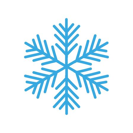 Vector christmas background concept design of white snowflake .