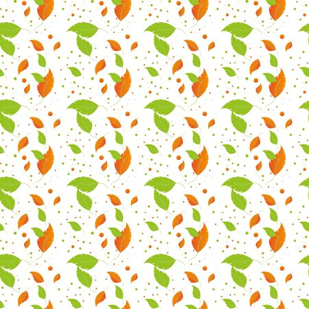 Autumn seamless pattern with leaf. autumn leaf backgroubd. Cute backdrop. Leaf fall. Colorful leaves. Dark Background. Autum Flowers Background. Seamless Pattern With Floral Motifs