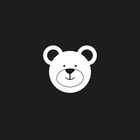 Bear hat icon vector. Trendy flat bear hat icon from kid and baby collection isolated on white background. Vector illustration can be used for web and mobile graphic design, logo,