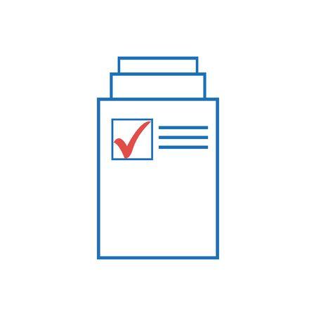 document icon. Page icon. File icon