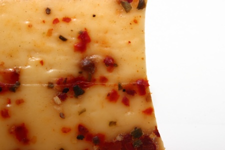 Cheese with peppers and spices Stock Photo - 17781454