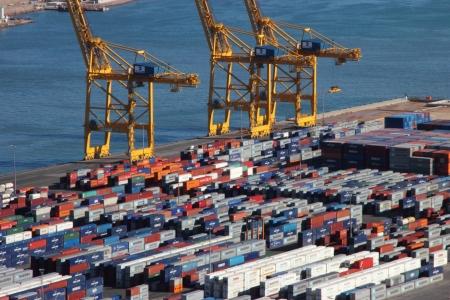 Sea Port of Barcelona Editorial