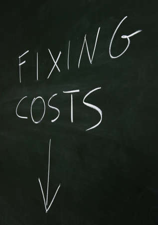 cutting costs: Fixing Costs Down
