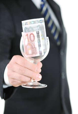 glas: Money in the glas