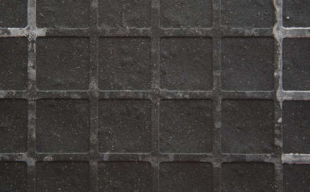 Seamless tileable grunge gray square marble stone background. Stock Photo - 15325726