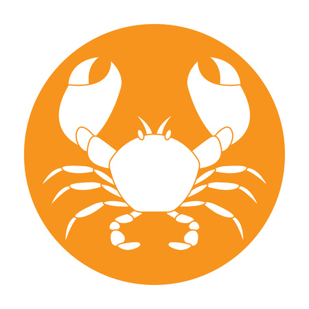 pincers: Crab icon.