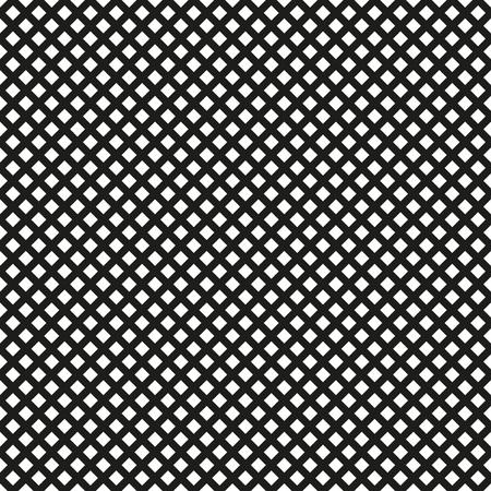 Arrière-plan de lignes de maillage. Motif de grille doublé sans couture. Illustration vectorielle. Vecteurs