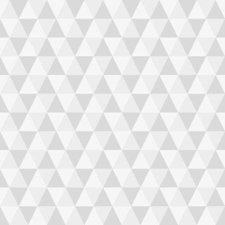 Triangle seamless background. Modern triangular geometric pattern. Polygon texture. Vector illustration. Vettoriali