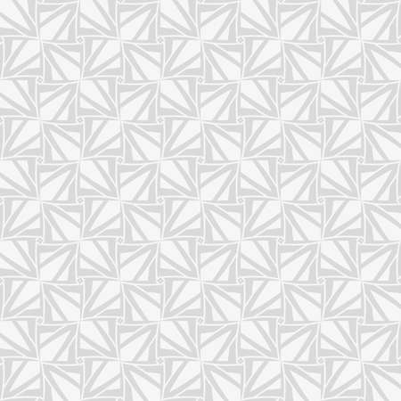 Seamless geometric pattern. Modern stylish monochrome texture for backdrop or background with abstract geometric shapes. Vector illustration. Ilustracja