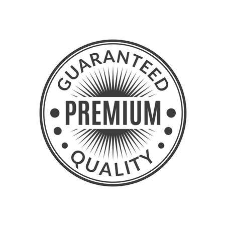 Premium Quality Guaranteed stamp or seal icon. Best product badge or label. Vector illustration. 向量圖像