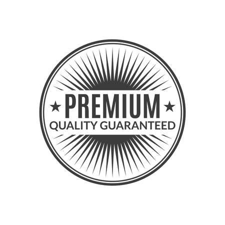 Premium Quality Guaranteed stamp or seal. High quality product icon, badge or label. Vector illustration. 向量圖像