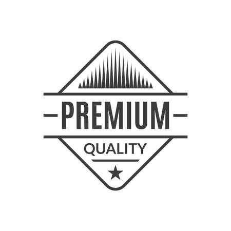 Premium Quality stamp or seal. High quality product icon, badge or label. Vector illustration.
