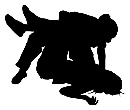 sobredosis: Rescate de ahogarse primera ilustración vector de la silueta de la ayuda. rescate del paciente. Bebido persona sobredosis después de la fiesta. Ataque furtivo rescate de víctimas. Cpr equipo de rescate. Víctima de evacuación de incendios. rescate del terremoto. Vectores