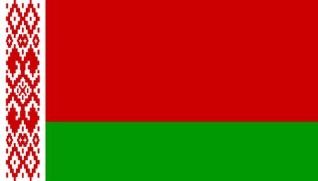 Belarus vector flag.