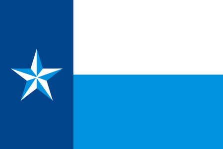 congress: Vector flag of Dallas County, Texas, USA.